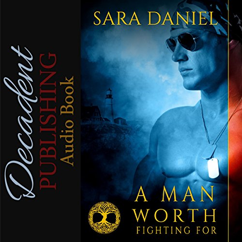 A Man Worth Fighting For audiobook cover art