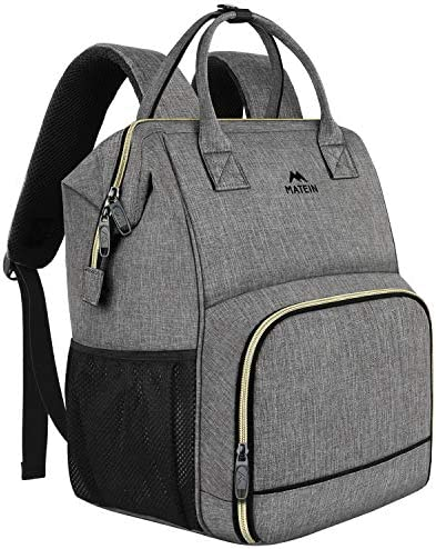 Lunch Backpack Insulated Cooler Backpack Lunch Box Laptop Backpack with USB Port for Women Men product image