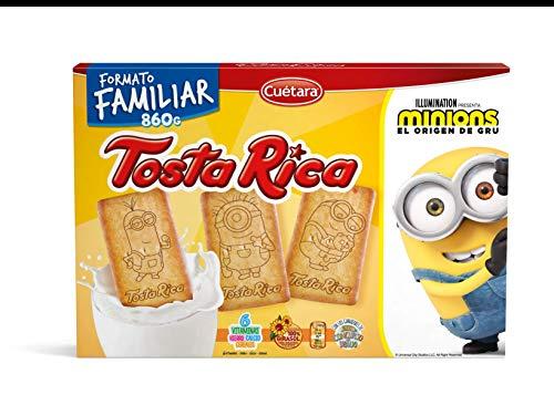 Tosta Rica - Galletas, 860 g - [Pack de 3]