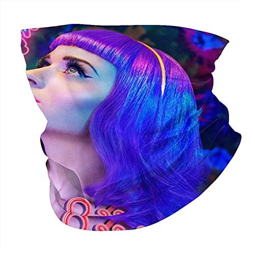 Katy-Perry 3D Printed Merch Winter Thermo Neck Gaiter Face Scarf / Halswärmer / Face Cover Winter Skimaske Sturmhaube Mütze - Kaltes Wetter Outdoor Winddicht Snowboard Motorrad Reiten