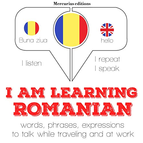 I am learning Romanian  By  cover art