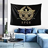 PICOHUG Roman Empire Eagle Emblem Tapestry - Tapestry Wall Hanging for Bedroom Livingroom Dorm Decor,60x40 Inches