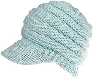 Winter Hats for Women Black Women Ponytail Beanies Autumn Winter Hats Female Soft Knitting Caps Warm