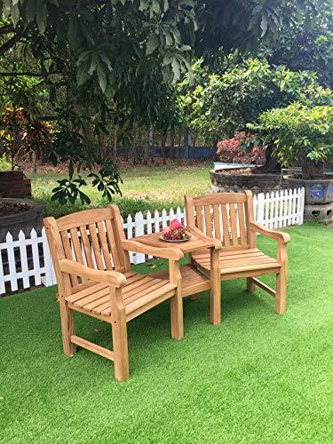 Maison&Garden CHUNKY OAK LOVE SEAT