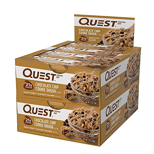 quest chocolate chip protein bars - 3