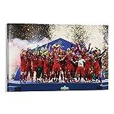 Poster Station UK Liverpool FC Champions League Gewinner