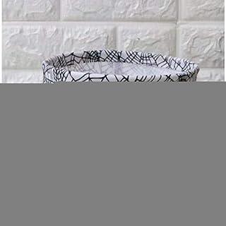 MJY Panier à linge, panier à linge, boîte de rangement de bureau Lin en coton, géométrie, modèle de rangement, organisateu...