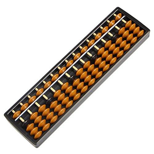 Lyguy Ábaco aritmética, Ábaco de plástico de 15 dígitos herramienta aritmética para niños de matemáticas para aprender ayuda de caculación juguetes