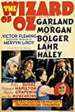 American Gift Services - Wizard of Oz Vintage Judy Garland Movie Poster 1-24x36