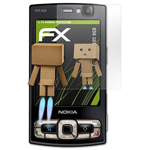FoliX FX - Protector de pantalla con efecto espejo para Nokia N95 8GB / N-95 8GB