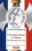 L' Extreme Droite En France
