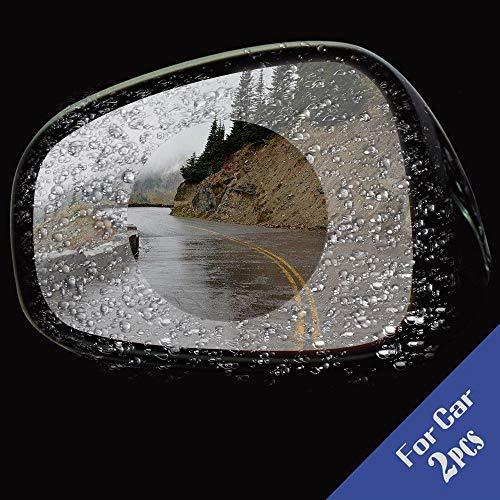 IJeilo 2ST auto anti-condens regenbescherming achteruitkijkspiegel venster beschermfolie autoaccessoires In-Car-Gadget