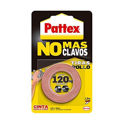 Pattex 1403701Band–nicht mehr Nägel, doppelseitig Rolle