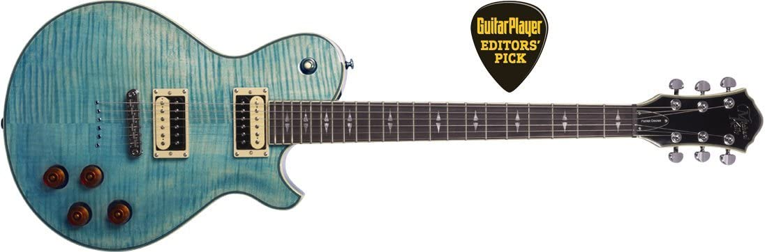 Michael Kelly Selling rankings Patriot Decree Blue Electric Guitar Coral Tucson Mall