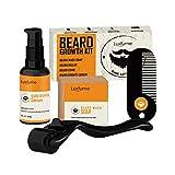 Raspbery Acondicionadores De Barba para Hombres Kit Profesional De Crecimiento De Barba Acelerador De Bigote Indoloro Cuidado Crecimiento De La Barba Parches De Relleno De Solución De Enhanced