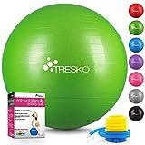 TRESKO® Anti-Burst Gymnastikball 55cm 65cm 75cm 85cm