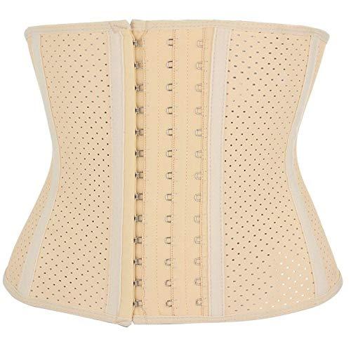 marca blanca Bauchbinde nach Geburt, Op, Kaiserschnitt, Schwangerschaft, Postpartum, Bauchgürtel mit Rückenunterstützung für damencreamy-whiteM