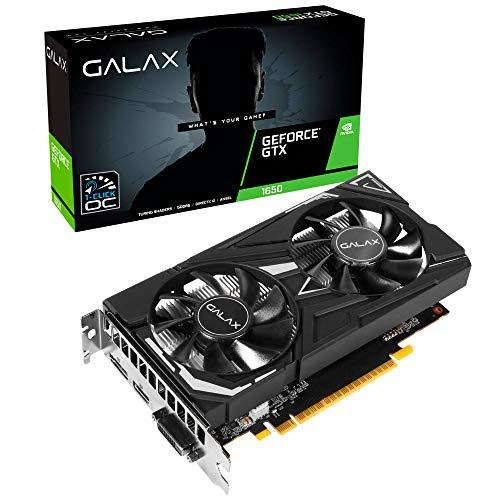 Placa de Vìdeo NVIDIA GeForce GTX1650 EX 4GB 1-Click OC 128 Bits GDDR6 GALAX - 65SQL8DS66E6