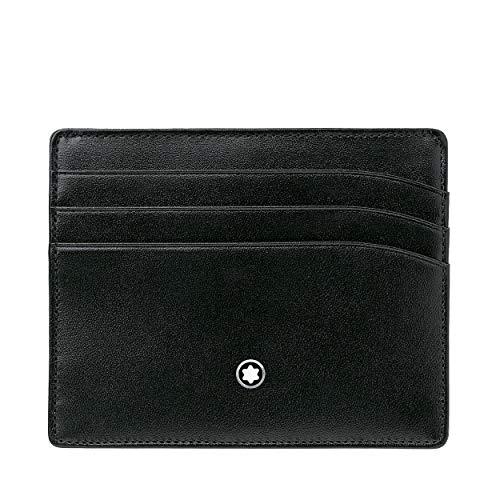 Montblanc MB106653 - Tarjetero , color negro