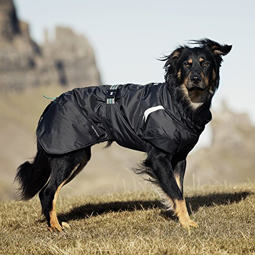 Hurtta Summit Parka Dog Winter Coat, Orange, 22 in