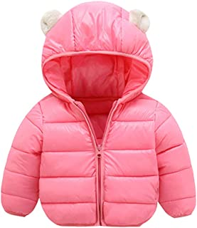 Fairy Baby Kids Winter Cotton Jacket Coat Cartoon Puffer Outwear Baby Hood Snowsuit