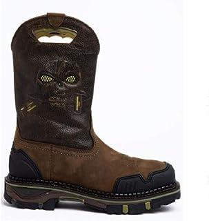 LUXDAMAI Botte D'équitation Western Cowboy Knight Botte Martin Brodée Grande Taille Chaussures De RandonnéE Imperméables e...