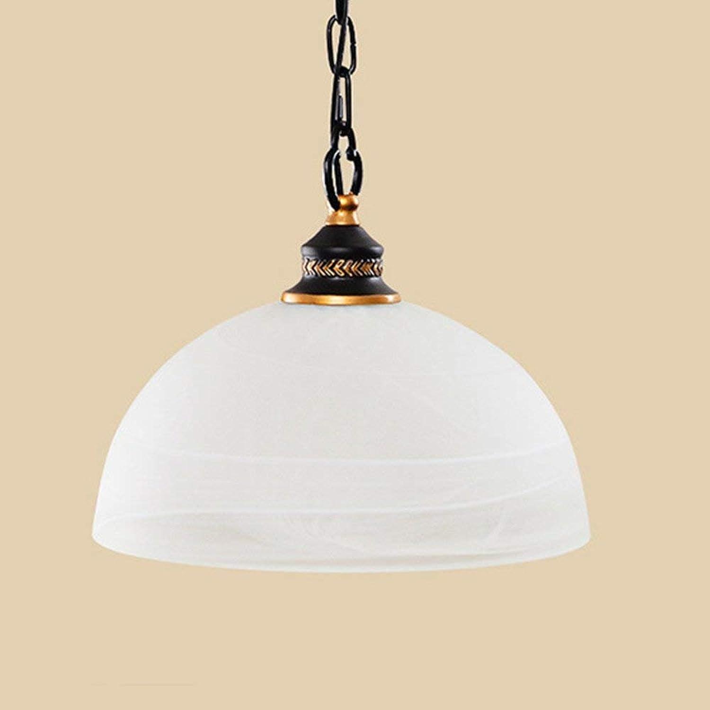 CHEYAL Europische Single-Head-Topf-Typ Kronleuchter Schmiede Lron Glas LED-Leuchten Restaurant Aisle Dekorativen Glasleuchter