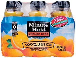 Minute Maid Juice, Orange, 10 Fl Oz, 6 Ct (Pack of 2)