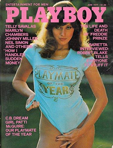 PLAYBOY Us 1977 06 JUNE N° 43 COVER PATTI McGUIRE PLAYMATE OF THE YEAR Virve Reid BARBARA BACH INTERVIEW Robert Blake