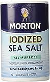 Morton Salt Iodized Sea Salt - 26 oz