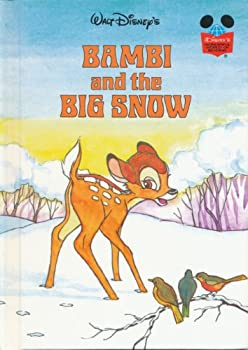 Bambi And The Big Snow - Book  of the Disney's Wonderful World of Reading