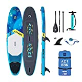 Aztron Sun All Round, Sup Hinchable/Windsurf Unisex Adulto, Azul/Negro, 335X81X15