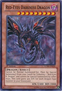 Yu-Gi-Oh! - Red-Eyes Darkness Dragon (LCJW-EN039) - Legendary Collection 4: Joey's World - 1st Edition - Common