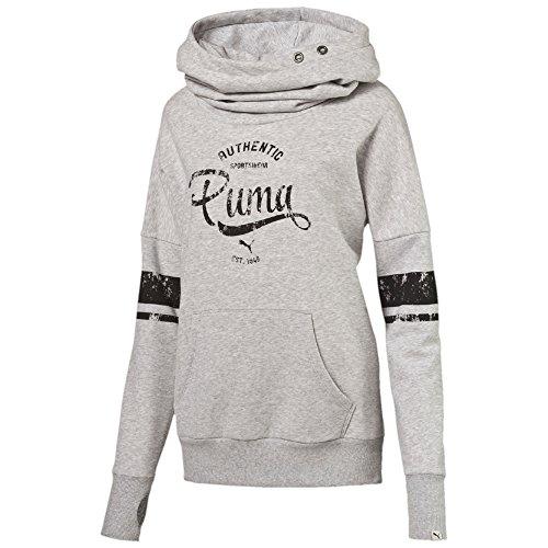 PUMA Style ATHL Hoodie FL Felpa, Donna