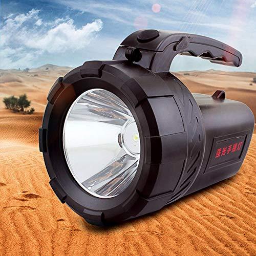 Handheld Scheinwerfer batterie nacht angeln lampe heizung miner batterie verstärker