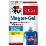 Doppelherz Magen-Gel – Medizinprodukt bei Sodbrennen, Reflux und säurebedingten Magenbeschwerden – 1 x 20 Beutel