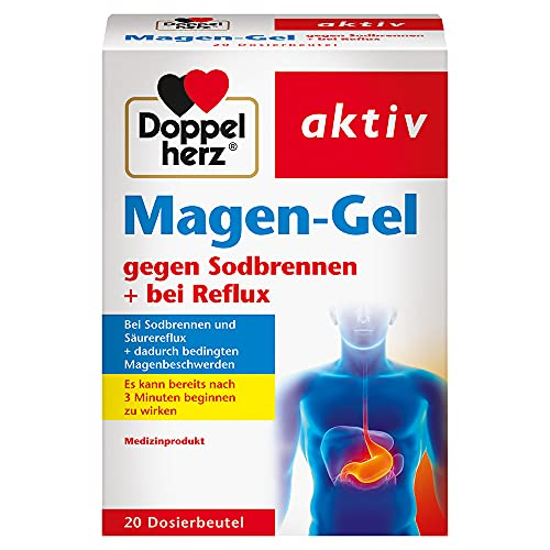 Doppelherz Magen-Gel – Medizinprodukt bei Sodbrennen, Reflux und säurebedingten Magenbeschwerden...
