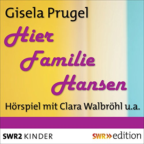 Hier Familie Hansen audiobook cover art