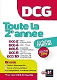 DCG - Toute la 2è année du DCG 2, 4, 5, 6, 10 en fiches - Révision