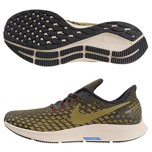 Nike Air Zoom Pegasus 35, Scarpe da Atletica Leggera Uomo, Multicolore (Black/Olive Flak/Peat Moss/Light Bone 11), 47.5 EU