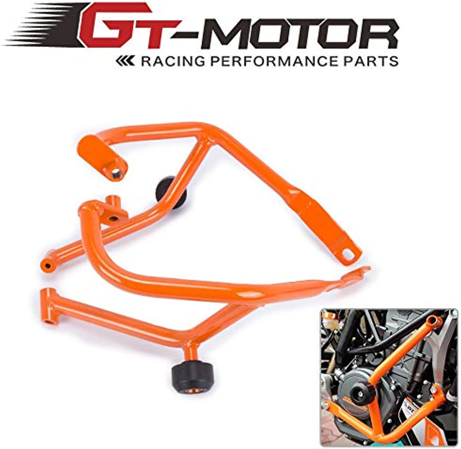 Fittings Motorcycle Refit Tank Predection Bar Predection Guard Crash Bars Frame for KTM Duke 390 DUKE390