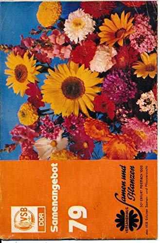 Samenangebot 79 Versandhaus Samen und Pflanzen