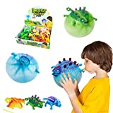 Wenosda Dinosaurier Ballon Ball Aufblasbare Kinder Blowing Dragon Vent Ballons Set Spielzeug Kinder...