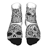 YudoHong Day Dead Skull Set Fun Novedad Calcetines Hombre Mujer
