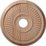 16'OD x 37/8' ID x 11/8'P tallada Berkshire techo Medallion para toldos (hasta 51/4')