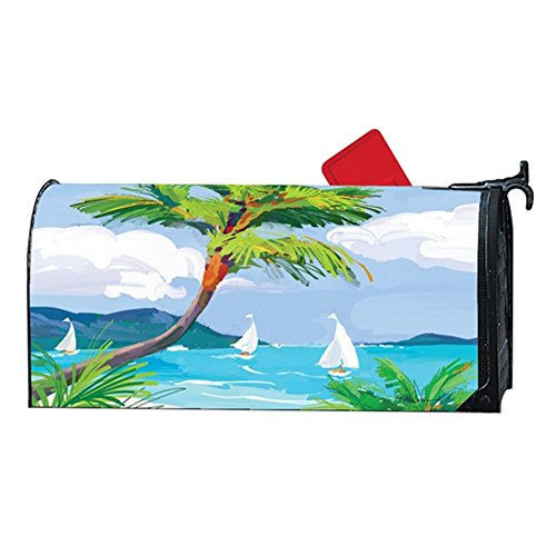 Aimant Works Mailwrap – Tropical Palm Tree