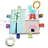 TOYMYTOY Baby Stoffbuch Spielbuch Kleinkindspielzeug Baby Pädagogisches Spielzeug