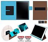 reboon Hülle für Samsung Galaxy TabPro S Tasche Cover Case Bumper | in Braun | Testsieger
