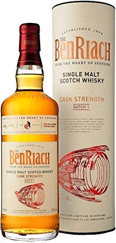 Benriach Cask Strength Batch No. 1 mit Geschenkverpackung Whisky (1 x 0.7 l)