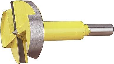 """Woodtek 3//8/"""" Shank 1-7//8/"""" Stainless Steel Forstner Drill Bit"""
